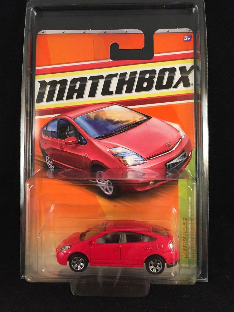 2011 Matchbox Metro Rides 08 Toyota Prius 26 Red W Protecto