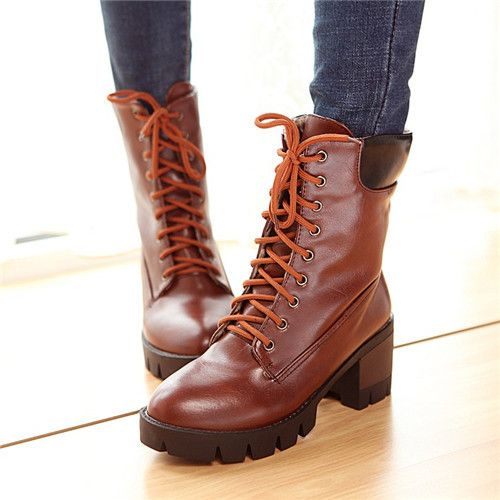 Online Buy Wholesale brown biker boots women from China brown ... c4a6a30cecdb