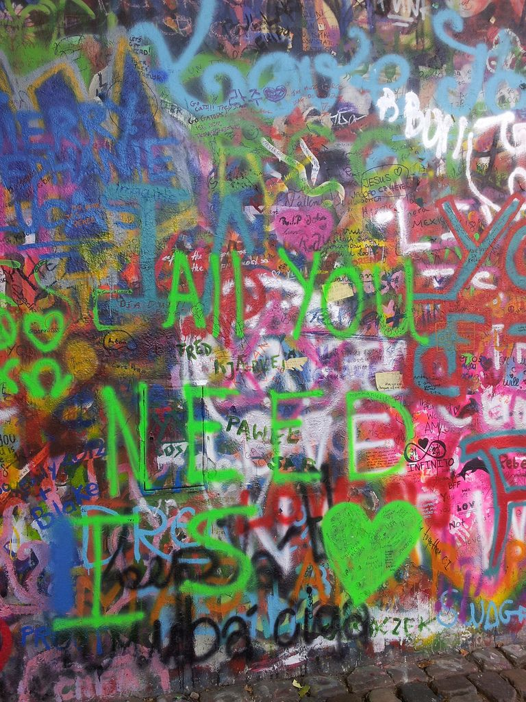 All you need is love! - The Wall of John Lennon