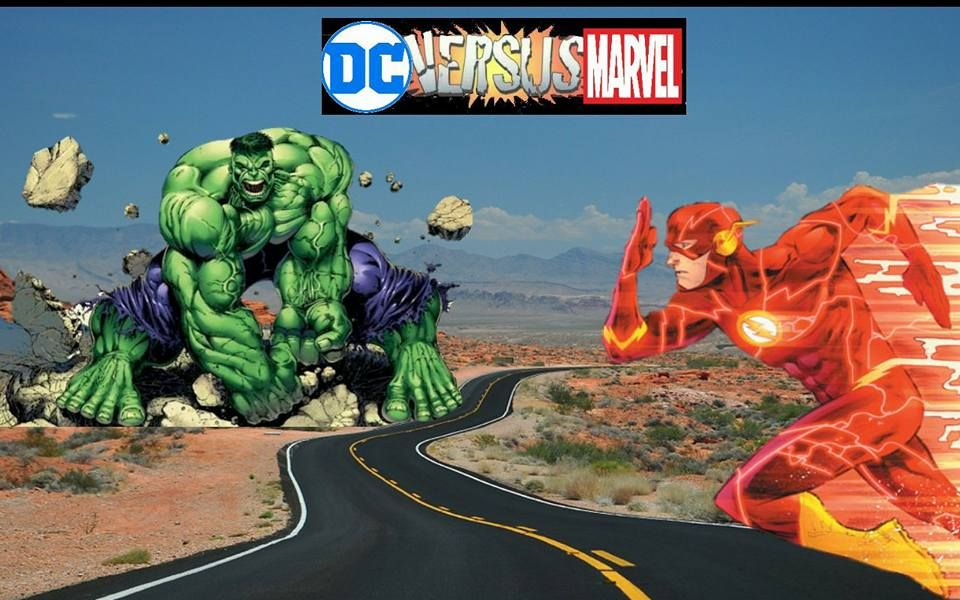 Marvel Vs Dc Wallpapers The Incredible Hulk Flash