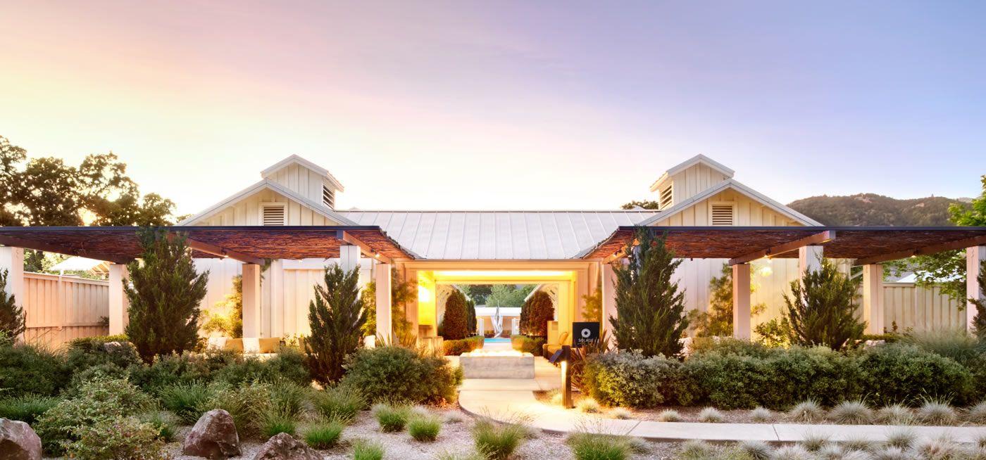 Napa Resorts Hotels Resort In Valley Solage Calistoga