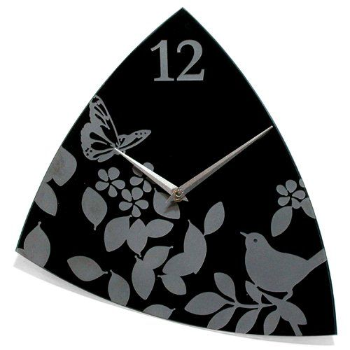 Infinity Instruments Age of Aviary15 Glass Wall Clock -- Read more reviews of the product by visiting the link on the image.