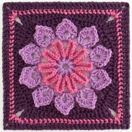 Pin by Ashley Russell on Crochet | Pinterest | Squares, Afghans and ...