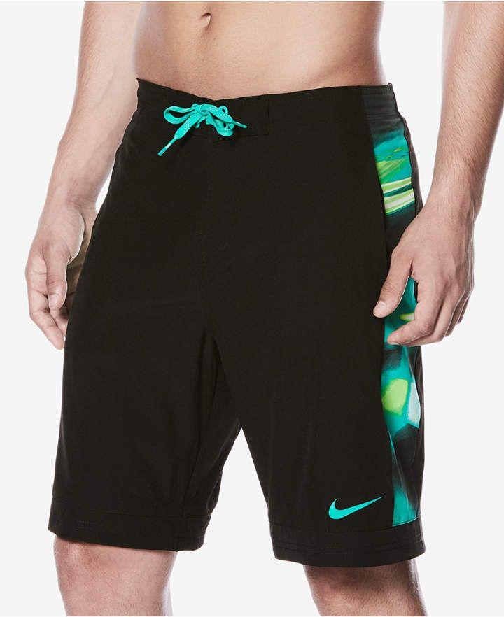 Swim Trunks | Nike men, Black swimwear