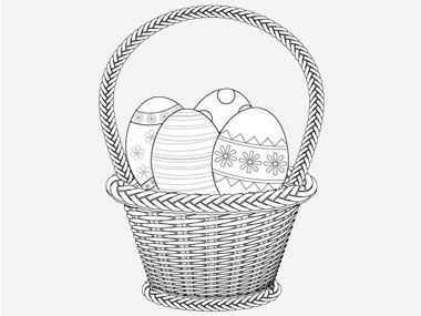 5 Printable Easter Card And Gift Tag Templates Egg ColoringColoring PagesTag