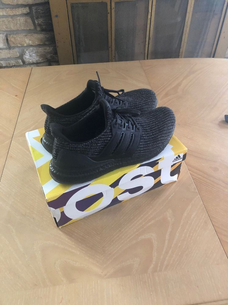 1606abf010f71 (eBay link) Mens Preowned Adidas Ultra Boost Triple Black 1.0 BB4677 Sz 10.5   fashion  clothing  shoes  accessories  mensshoes  athleticshoes