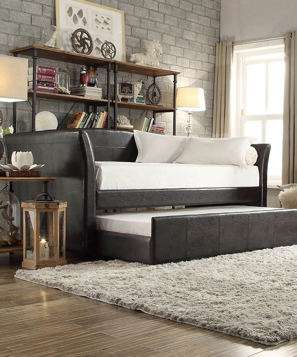 HomeBelle Stanton Trundle Daybed Frame Zulily Home