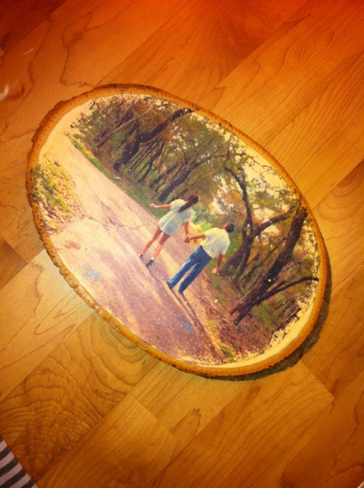 Modge Podge Photos On Wood Picture Transfer Onto Wood Using