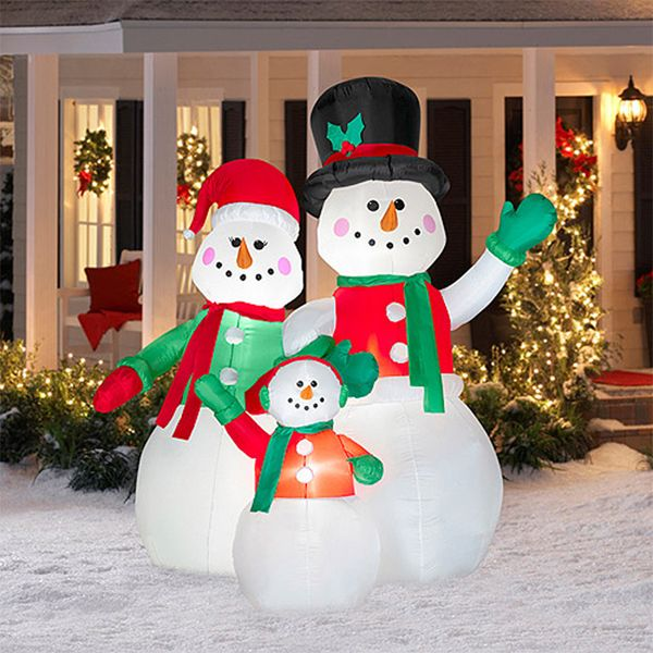 christmas lawn decorations inflatable christmas yard dcor - Outdoor Christmas Lawn Decorations