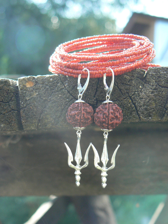 Pin on Rudraksha jewelry my works