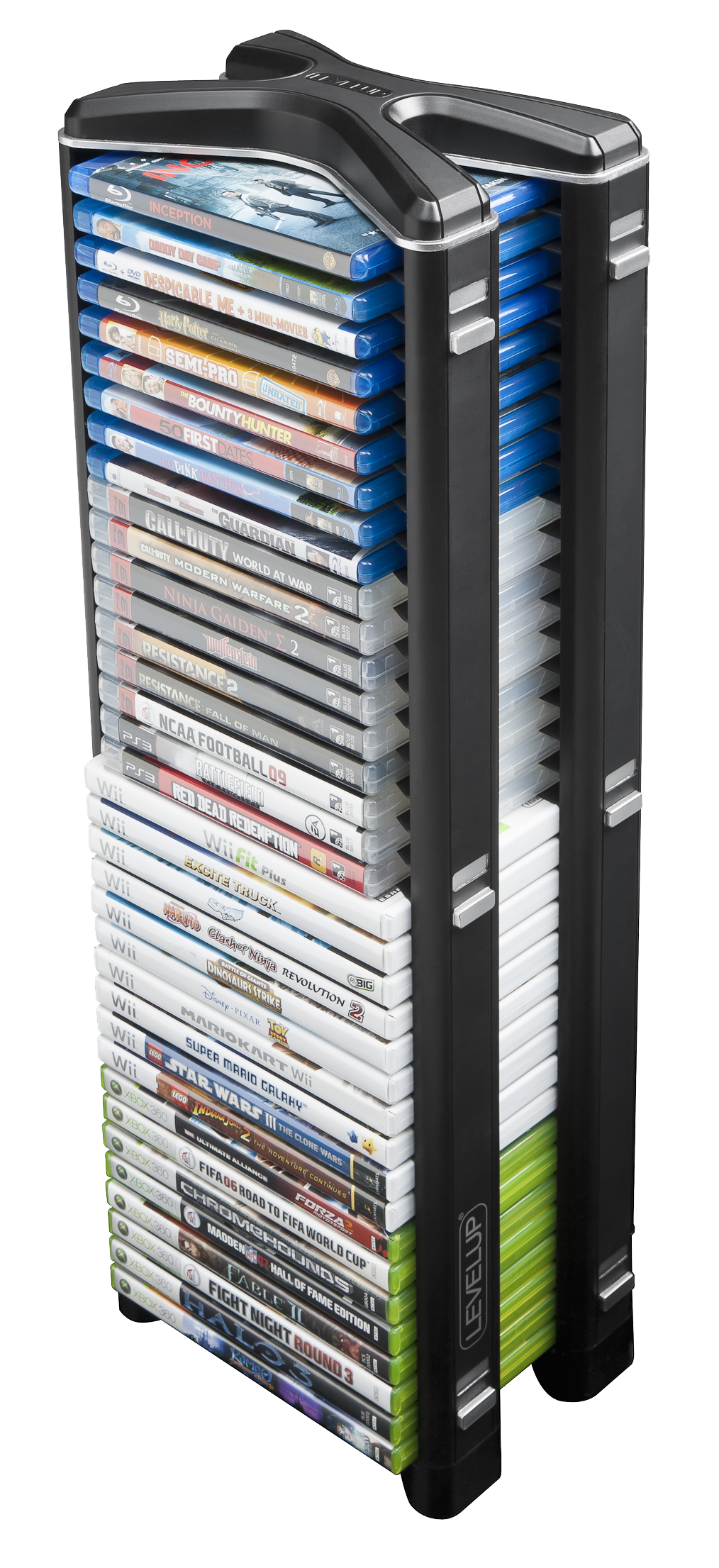 Stealth Media Storage Tower The Versatile Value For Your