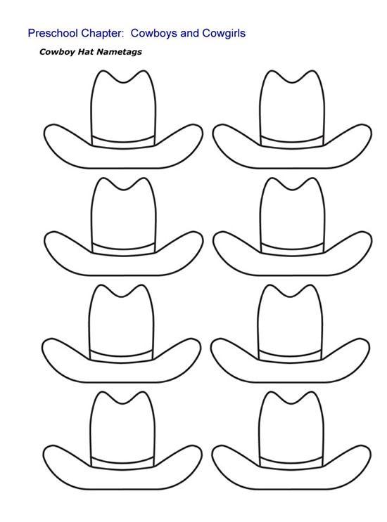 Preschool Programs Chapter Tslac Cowboy Crafts Wild West Theme Western Crafts