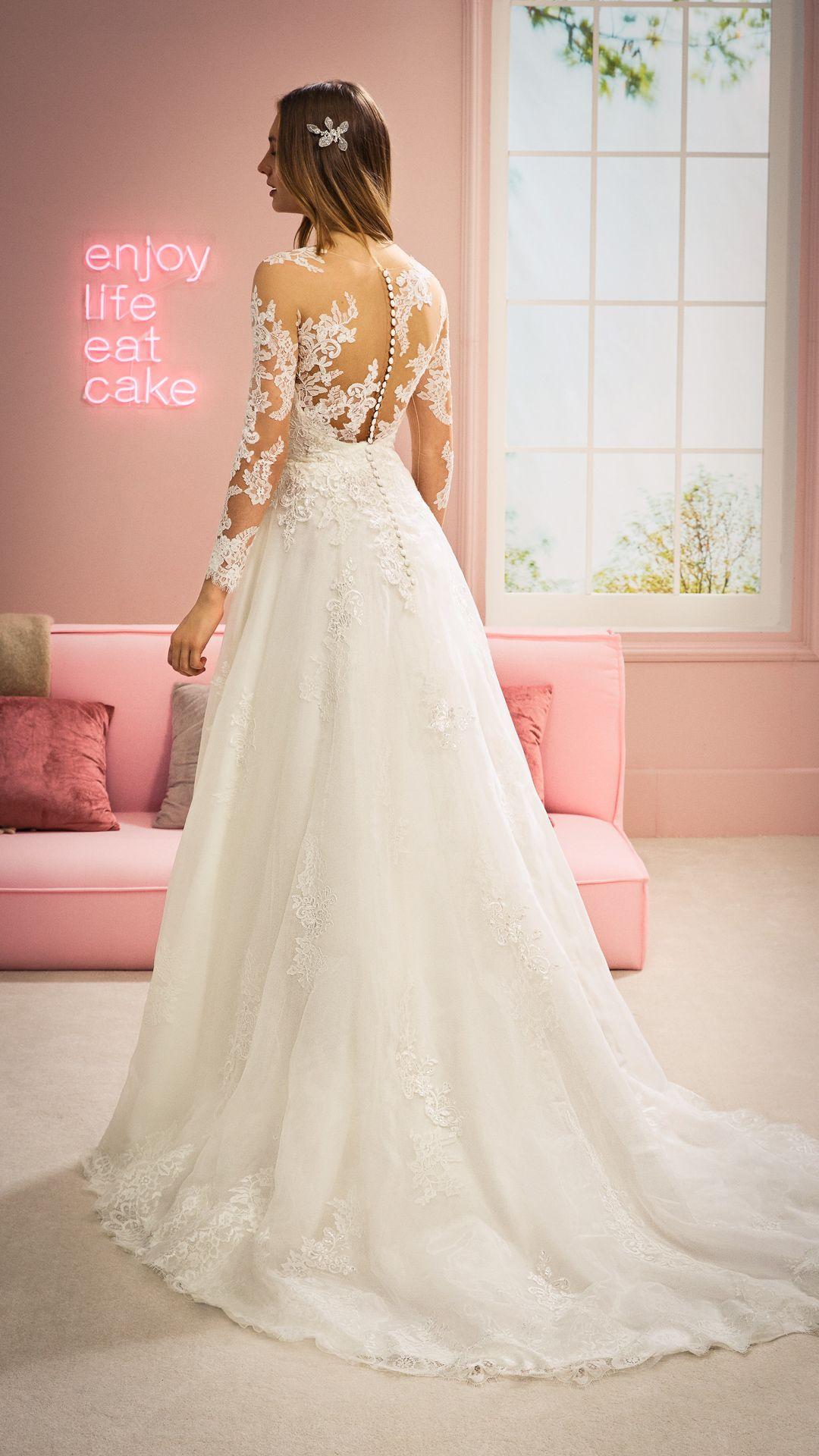 Hochzeitskleider 20 White One Kollektion Modell: RUKSHANA-C
