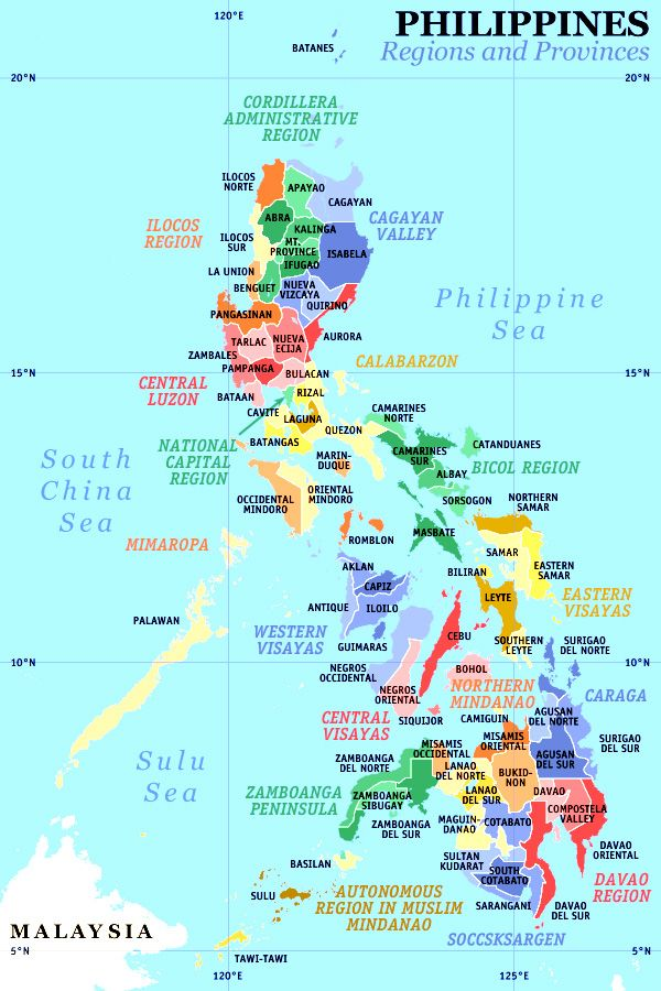 Phl Map Jpg 600 900 With Images Philippines Travel Philippine Province Regions Of The Philippines