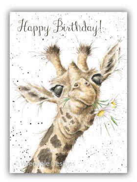 'Birthday Flowers' Birthday card