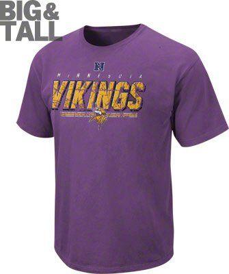 e52218a26 Big and Tall Minnesota Vikings Tee 3X 4X 5X 6X XLT-5XLT