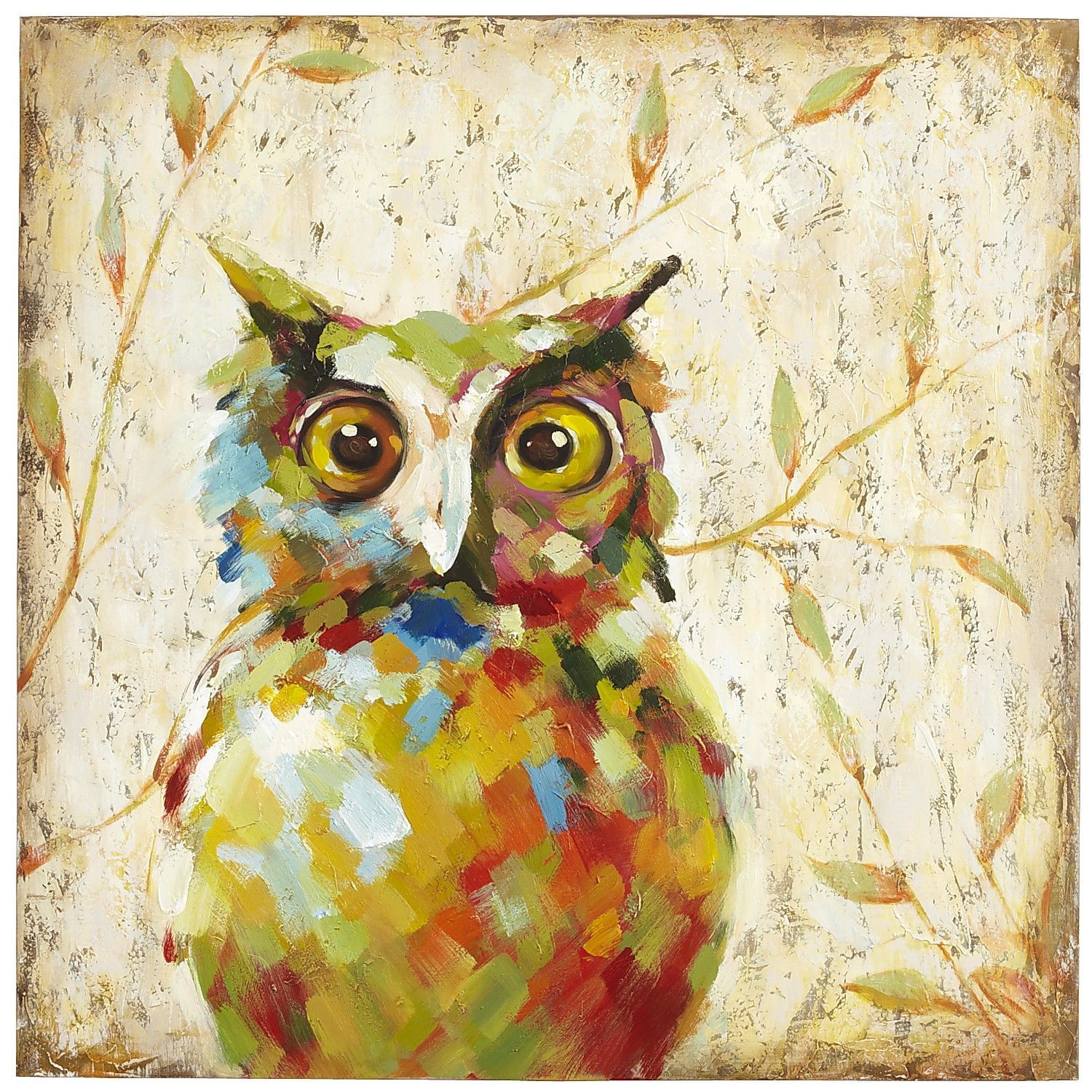 Quirky Owl Art | Owl art, Office art and House