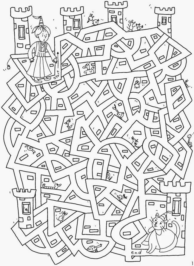 los gr u00e1ficos del gato  dibujos laberintos