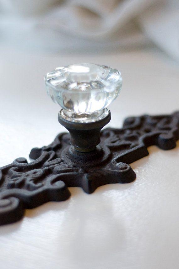Glass & Metal Doorknob | Knobs & Levers | Pinterest | Door ...