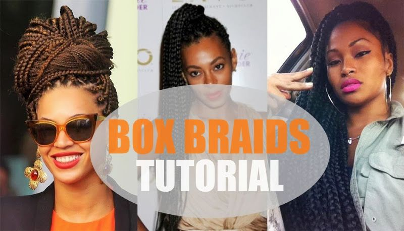 Box Braids Tutorial   kyssmyhair.com