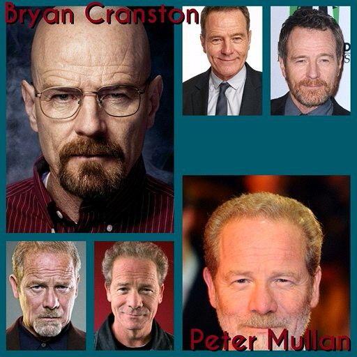 Bryan Cranston And Peter Mullan Bryan Cranston Mullan Cranston