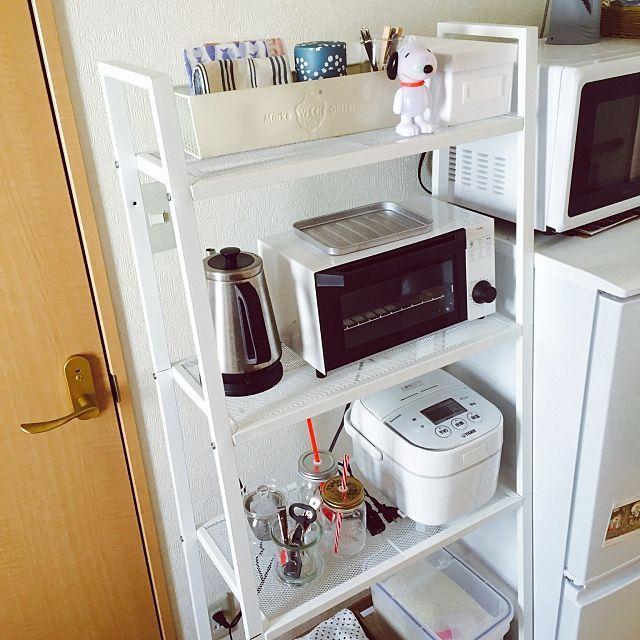 Ikea 無印 ニトリ商品でキッチン収納アイディア ワンルーム
