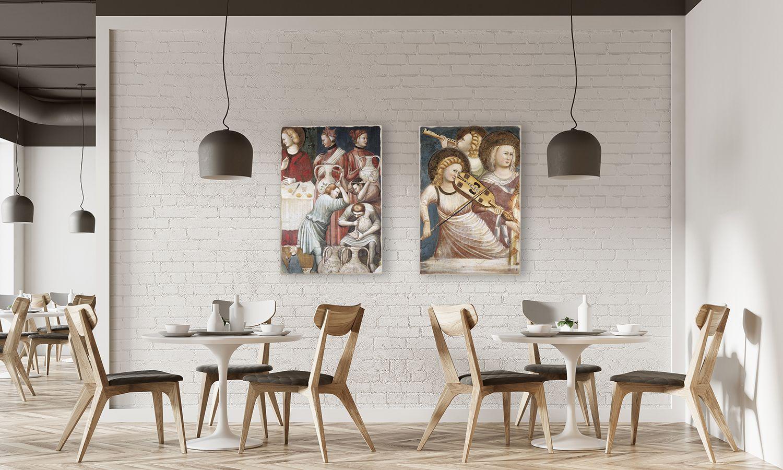 Idee X Decorare Pareti un'idea raffinata per decorare le pareti di un ristorante
