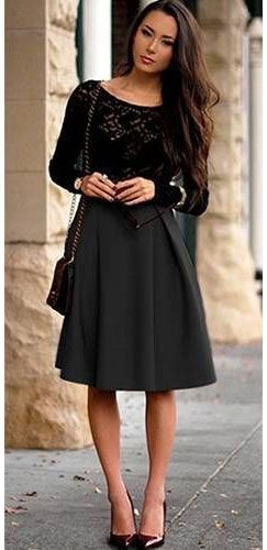 17 Best images about Skater skirt on Pinterest | Maxi skirts ...