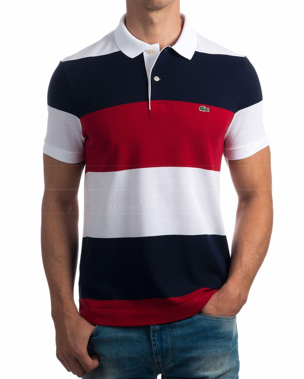 Polos Lacoste - Tricolor Nautico Elige tu color Compra al mejor precio  Envío gratis a España 0728725656b9e