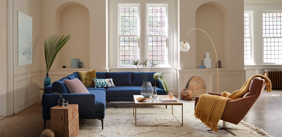 Living Room Inspiration West Elm With Images Swivel Chair