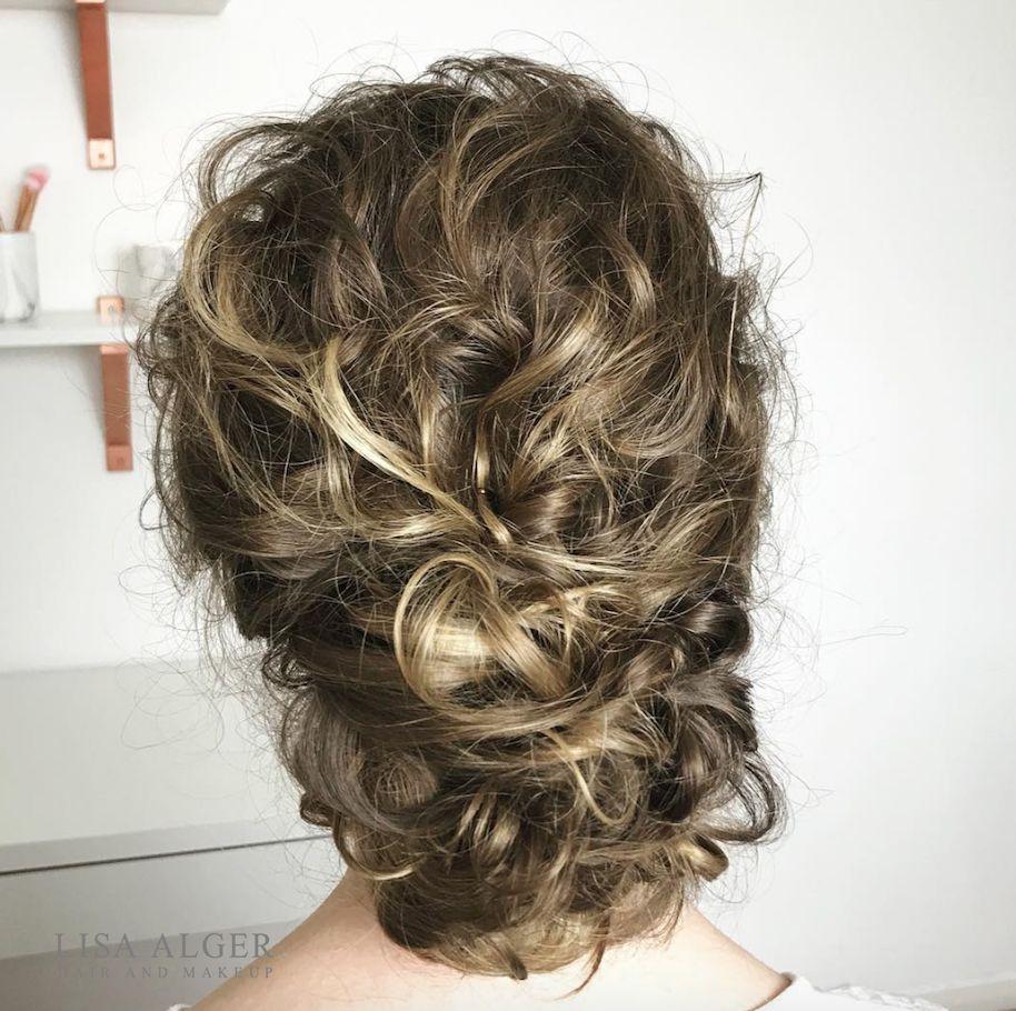 see website for online wedding hair training * textured bun