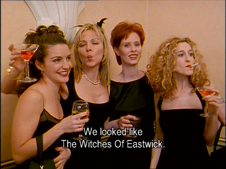 Image result for sex and the city the witches of eastwick