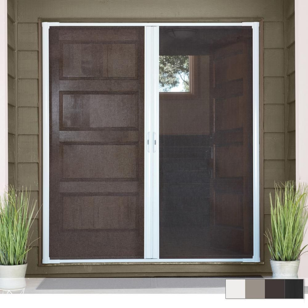Andersen LuminAire Double Retractable Screen Door in 2020 | Retractable screen door, Retractable screen, Front door with screen