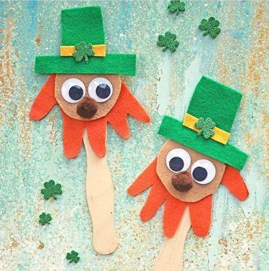 Preschool St Patrick's Day crafts | funnycrafts