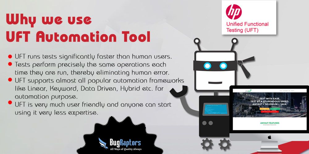 Why we use #UFT Automation Tool: 1 ) UFT runs tests