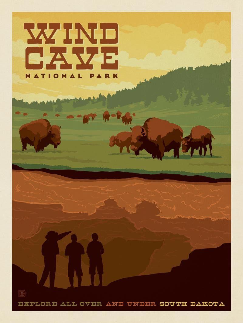 Wind Cave National Park South Dakota