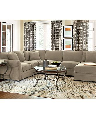 Devon Living Room Furniture Sets & Pieces, Sectional Sofa ...
