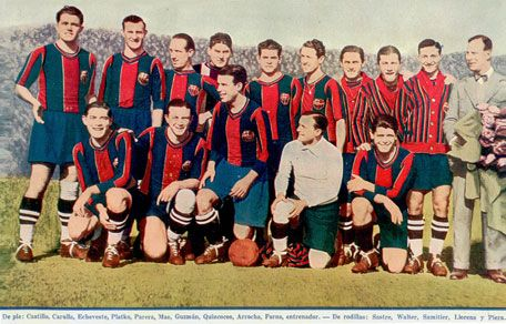 206.  TEAM - 1928. Spanish Champions 1928-1929, first year of La Liga | Copa del Rey 1927-1928