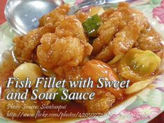 Fish Fillet With Sweet And Sour Sauce Panlasang Pinoy Meaty Recipes Sweet And Sour Fish Fillet Recipe Fish Fillet Recipe Chicken Fillet Recipes