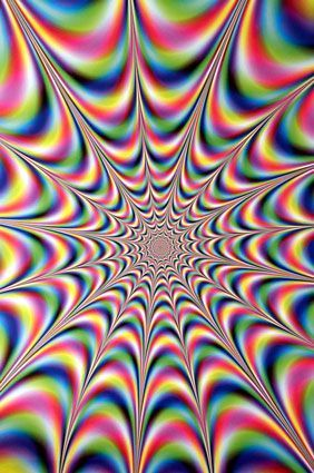 Cool Moving Psychedelic Illusion