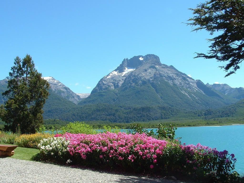 Lago Nahuel Huapi en San Carlos De Bariloche, provincia de