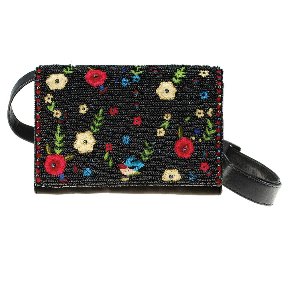 28a1d8ed3 Buds Forever Belt Bag Beaded and Embroidered Crossbody-Belt Bag