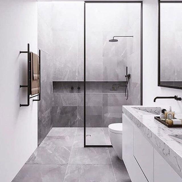 Modern Minimalist Bathroom Mirror: Modern Minimalist Bathroom By Giovanne Souza 😍
