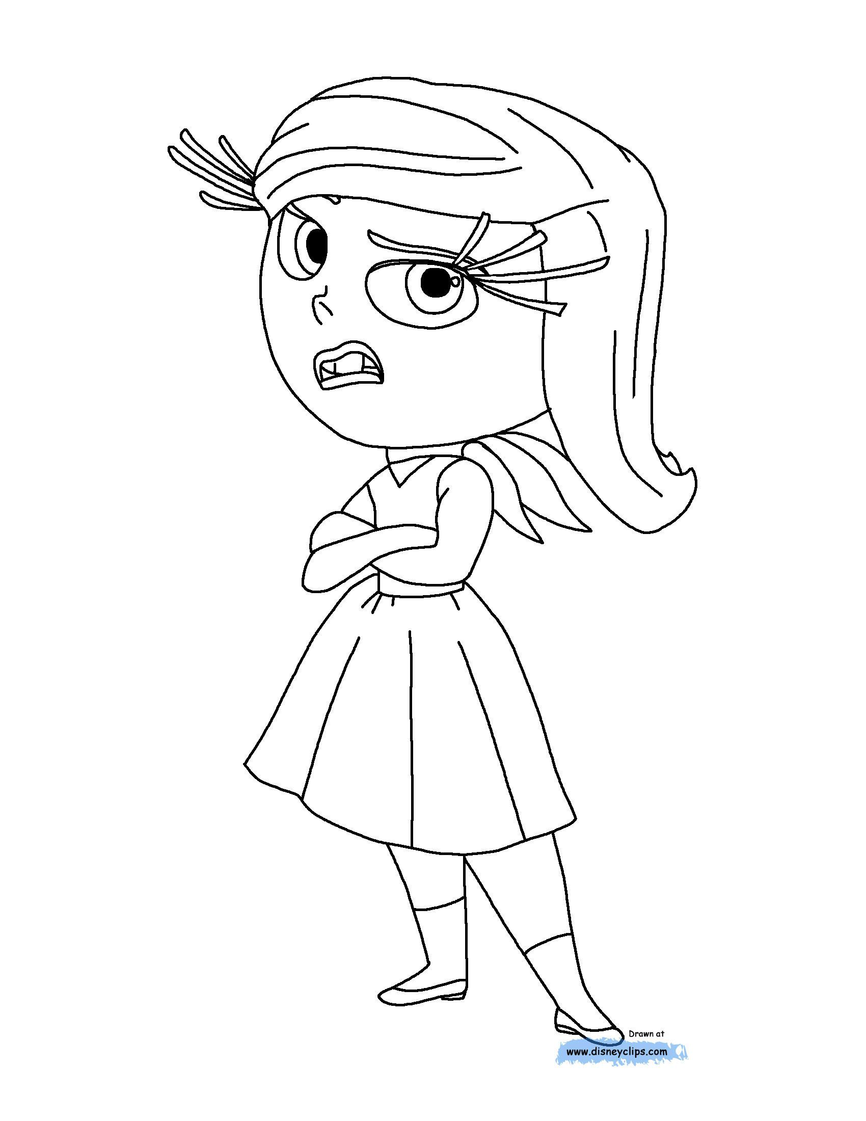 Disney S Inside Out Movie Coloring Pages Create Play Travel Inside Out Coloring Pages Disney Coloring Pages Coloring Pages Inspirational