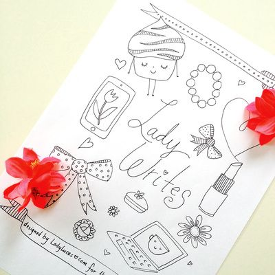 Custom Coloring Pages Picture Book Illustration Crafts Design