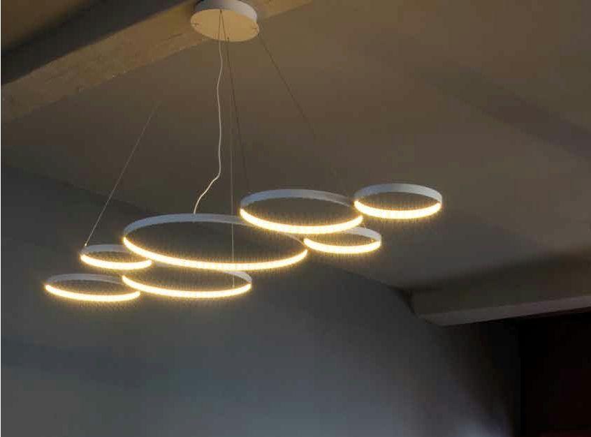 suspension led pour clairage direct indirect ultra8 by le deun luminaires bocci leuchten. Black Bedroom Furniture Sets. Home Design Ideas