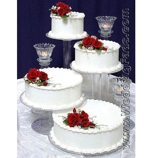 Cheap Crystal Cake Stand Kit