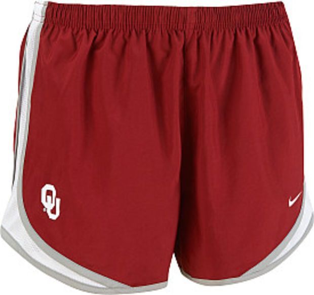 Nike Women's Oklahoma Sooners Crimson Tempo Running Shorts - Dick's  Sporting Goods
