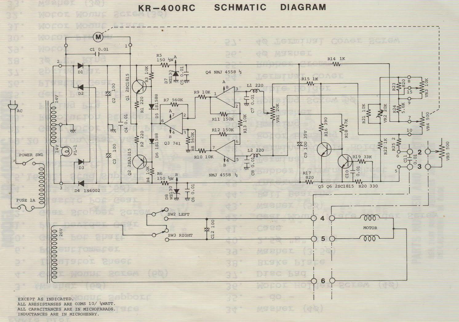 M0pkz Ly3k Blog Antenna Rotator Kr 400rc Control Unit Schematic Hid Electronic Ballast Circuit Diagram Basiccircuit