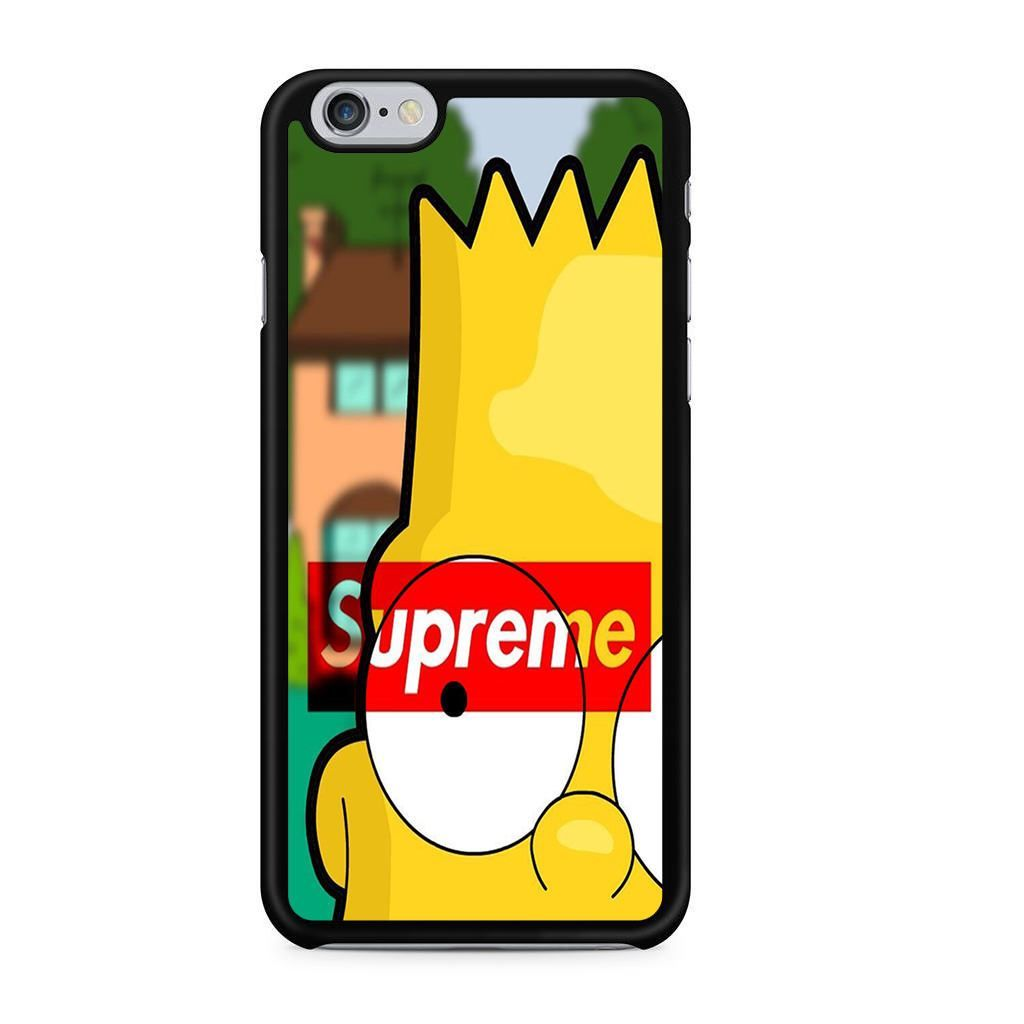 outlet store 47756 24526 Bart Simpson Supreme For Iphone 6 Iphone 6S Case | disney iPhone 7 ...